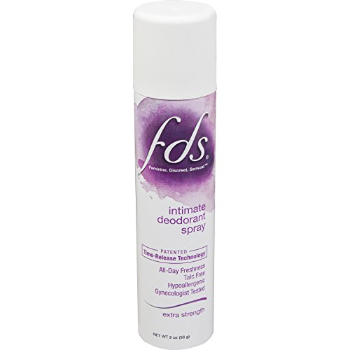 FDS Extra Strength Feminine Spray, 2 Oz, For All-Day Freshness
