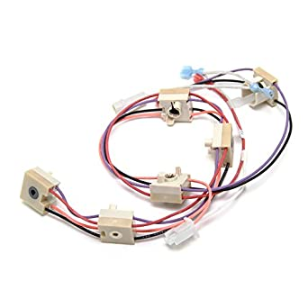 41r7oC7 q3L._SX342_ amazon com ge wb18t10367 cooktop igniter switch harness appliances ge ignitor wiring harness at crackthecode.co