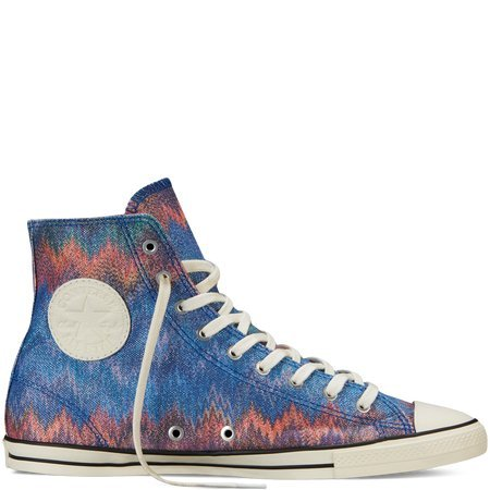 Converse x Missoni Womens Chuck Taylor® All Star Fancy High Top Sneaker (8.5)