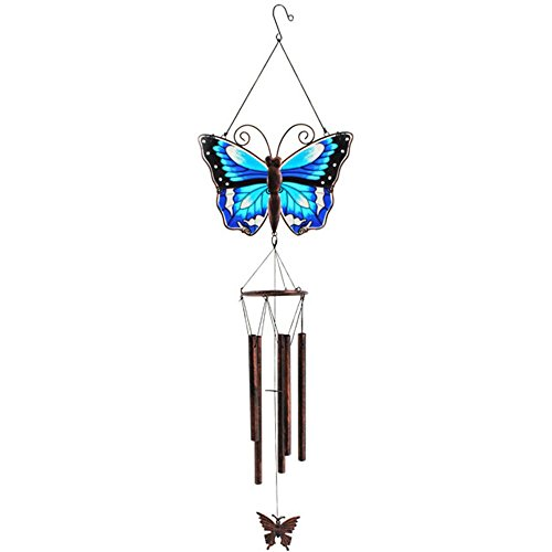 Cheap Something Different Butterfly Chime, Blue/brown