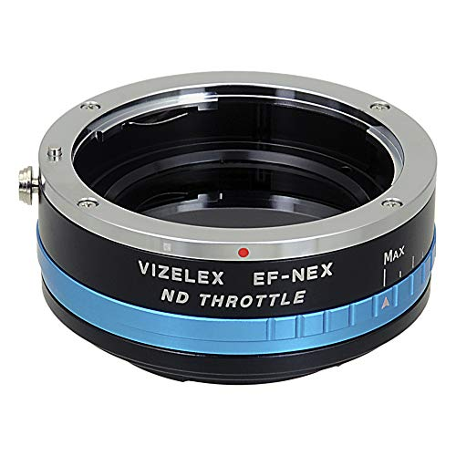 Vizelex ND Throttle Lens Adapter Compatible with Canon EOS EF and EF-S Lenses to Sony E-Mount Cameras