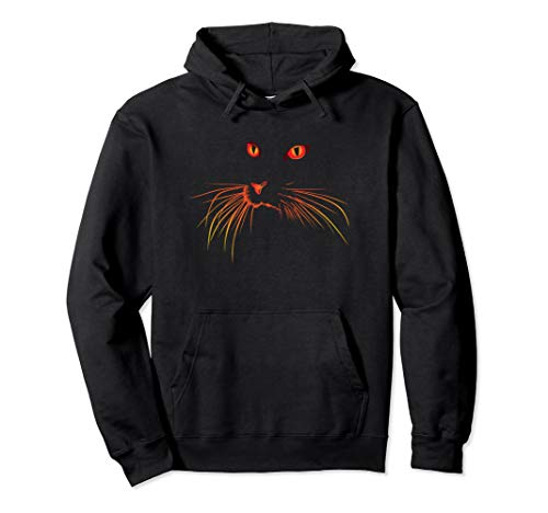 Cat Stalking Pumpkin Carving Hoodie Sweatshirt