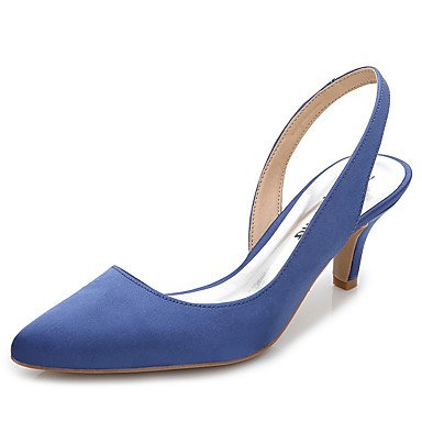 Clogs Women'S Zormey Wedding amp;Amp; Summer Dress Career Heel Office Party UK4 Stiletto Fall CN36 Silk EU36 amp;Amp; Mules Evening Slingback amp;Amp; US6 F5d8dq