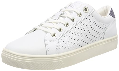 White 23620 para Oliver s Zapatillas Nappa Mujer Blanco Uqw7Y8Fn8x