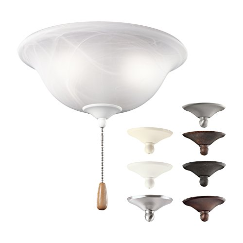 Kichler Lighting 338506MUL Ceiling Alabaster