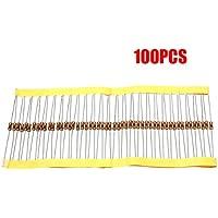 TOOGOO(R) 100 PCS 1 / 4W 5% 0.25W