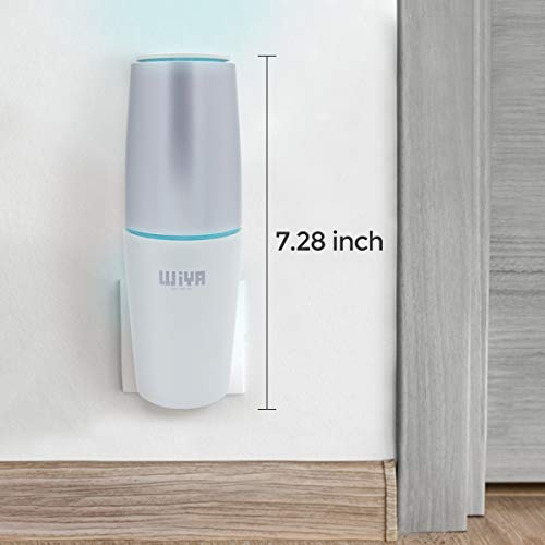 WiYA Portable Pluggable Air Purifier, Home Air Purifier to Eliminate Pet Odor, Kitchen, Bedroom, Diaper, Allergens Odor, Smoke Fresh Air Cleaner