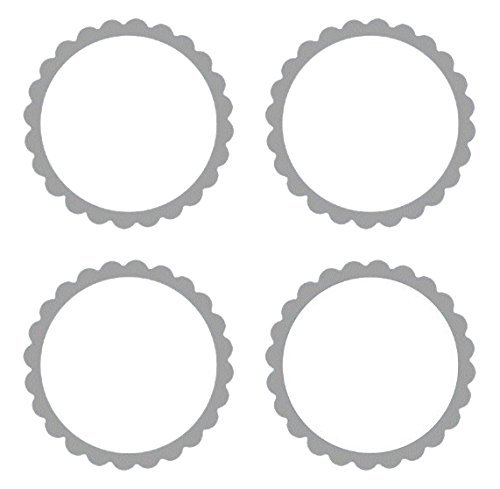 Amscan 5 Sheets Lovely Scalloped Party Labels, 2
