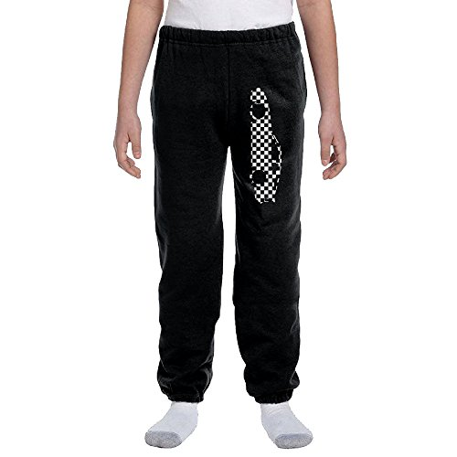 Price comparison product image Porsche 944 Outline 2 Youth Basics Fleece Pocketed Sweat Pants Black