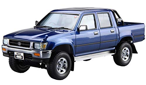 Aoshima 1/24 the cars series No.20 Toyota LN107 Toyota: Hilux pick up double cab 4WD 1994 model car from Aoshima