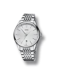 Oris Artelier Silver Dial Automatic Mens Watch 733-7721-4051MB