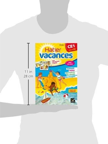 Cahiers De Vacances Hatier: Ce1 (Vers Le Ce2) 7/8 Ans (French Edition): 9782218960987: Amazon.com: Books