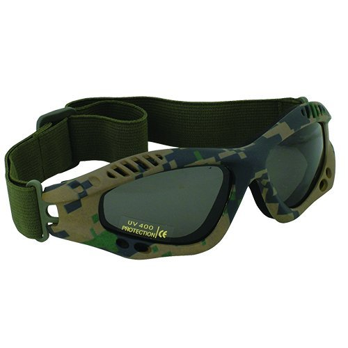 Fox Outdoor Products Mojave Goggle Digital Woodland