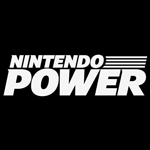 Nintendo Power Logo Vinyl Decal Sticker - For wall, vehicle, computer, home decor (22x6.3 inch, Gloss White) by Bad Fish Custom (Image #2)