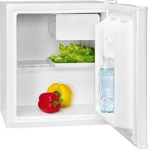 Bomann KB 189 - Nevera pequeña con cajón para hielo (A+, 0,308 kWh, 48 litros), color blanco