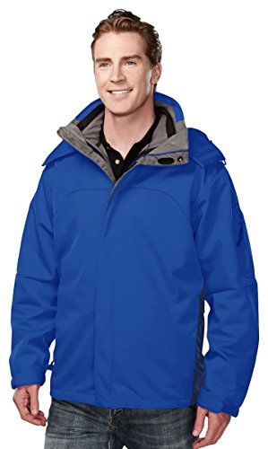 ly bonded soft shell 3-in-1 jacket - Imperial Blue - XL (Closeout Mens Ski Jackets)