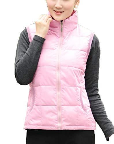 security Womens Lightweight Waterproof Packable Down Outwear Puffer Down Jacket Pink