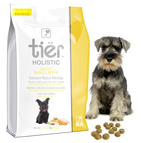 Tier Holistic Croquetas para Perro Adult Small Bite - 8Kg. Alimento Súper Premium para Perros Adultos de Raza Pequeña Que...
