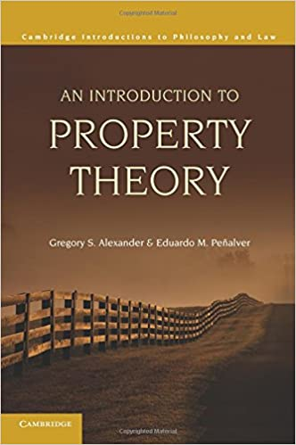 An introduction to property theory cambridge introductions to an introduction to property theory cambridge introductions to philosophy and law 0th edition fandeluxe Image collections