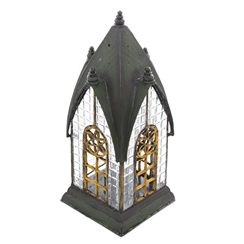 Decorative Outdoor Table Lantern - Candle Holder lantern - Pembroke Historic English Architectural (Valley Candle Holder)