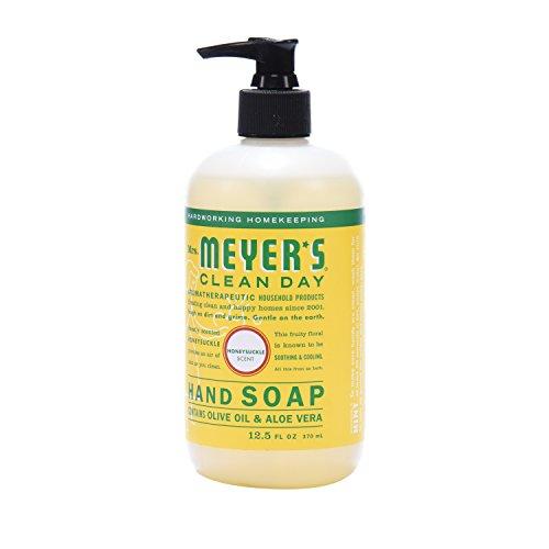 Mrs. Meyer´s Clean Day Hand Soap, Honeysuckle, 12.5 fl oz, 3 ct by Mrs. Meyer's Clean Day (Image #4)