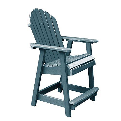 Highwood Hamilton Counter Height Deck Chair, Nantucket Blue
