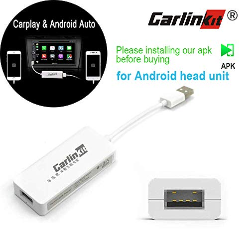 Carlinkit USB Car Play Dongle Electronics Cable Connector (HW01-01), White