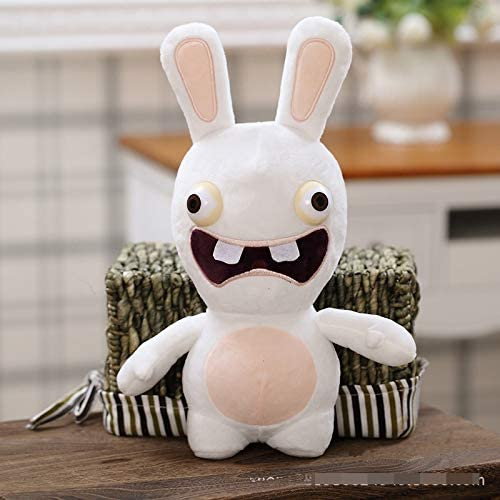20CM Rayman Raving Rabbids Plush Figure Toy Soft Stuffed Bunny Doll Kids Gift