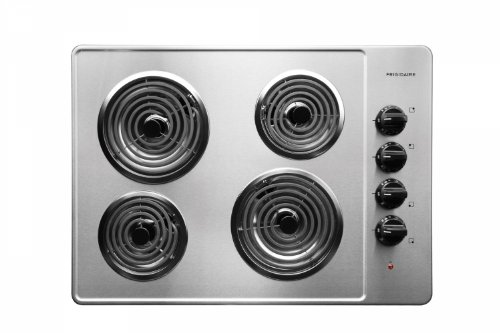 "Frigidaire FFEC3005LS 30"" Coil Electric Cooktop With 4 Coil Heating Elements in Stainless Steel"