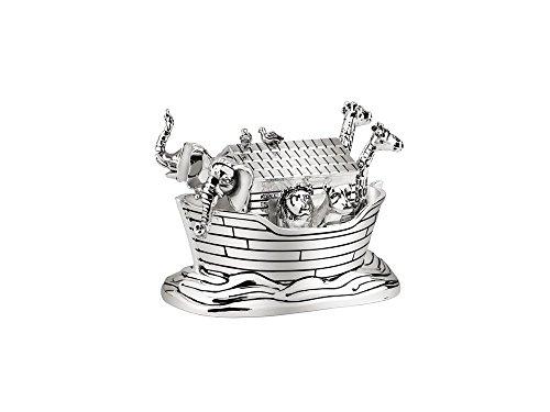 Zilverstad 6822261 Music Box 8.5 x 5.5 x 6 cm Silver Plated Noah's Ark