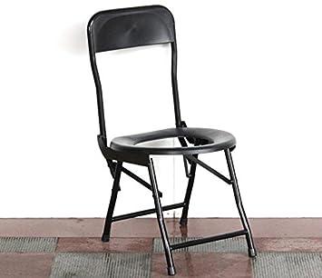 Noche Mesa Cómoda de ducha de acero y silla de baño plegable ...