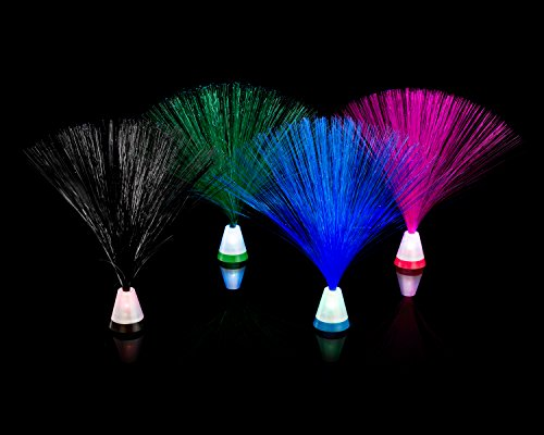 Fiber Optic Light 4 Pack Multicolored Set 9