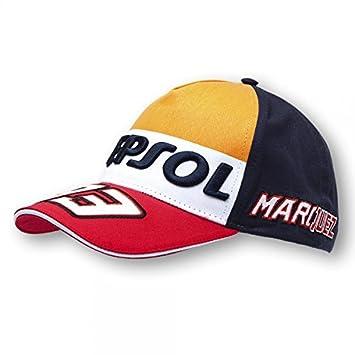 Marc Marquez Repsol 93, gorra, gorra, pantalla Gorro, MotoGP: Amazon.es: Coche y moto