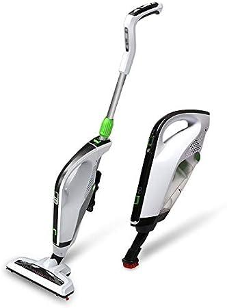 FDFDSLGLNDDIYI LQPOUXCQ aspiradora Escoba sin Cable 2 En 1 Aspirador Eléctrico De Mano Inalámbrico 2000mAh Silencio Potente Aspiradora Vertical Inicio Alquiler De Mini (Color : White): Amazon.es: Hogar