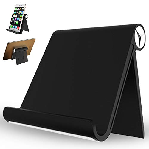 LNBEI Multi-Angle Portable Stand for Tablets, E-Readers and Smartphones - Black