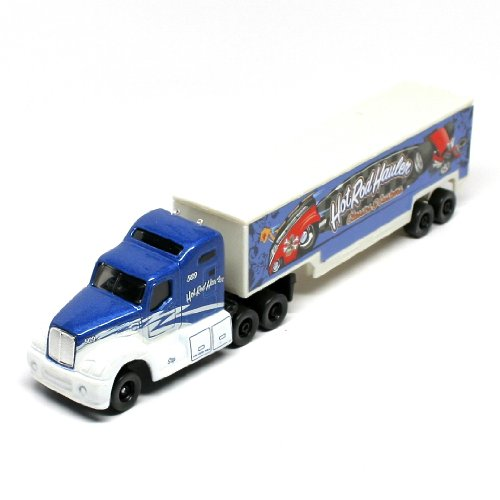- Hot Rod Haulers Classics & Customs * On the Road Series * Maisto Highway Haulers 2010 Fresh Metal Die-Cast Tractor Trailer / Semi Truck Vehicle Collection
