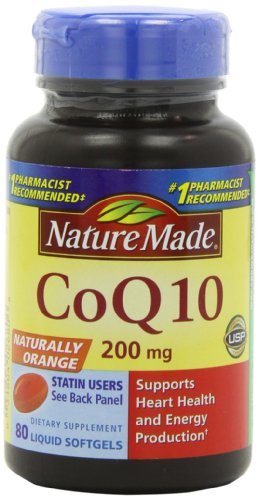 Nature Made CoQ10 200 mg, Valeur Taille, 80-Count