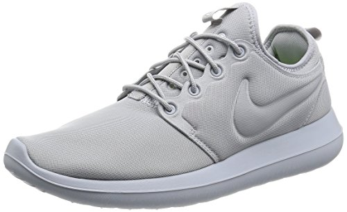 Roshe 40 Two Chaussures Wolf Rouge Entrainement EU de Grey Nike Running Homme wfBdqw8