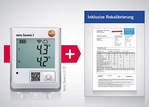 /T2/Incluye gratuito ISO rekalibrierung Testo saveris 2/
