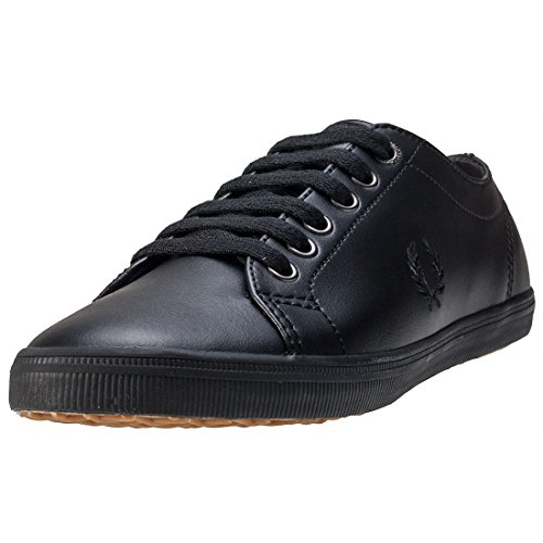 Fred Perry Kingston Leather White negro