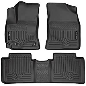 Husky Liners – 99531 Front & 2nd Seat Floor Liners Fits 14-19 Corolla Black