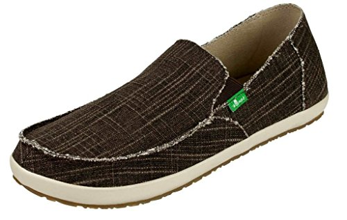 Image of Sanuk Mens Rounder Hobo Slub Shoes Footwear