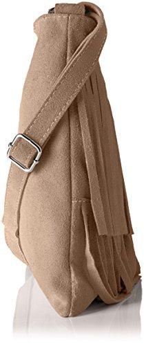 Bags4Less Mujer Tipsi Bolso de bandolera, 10x30x30 cm Taupe
