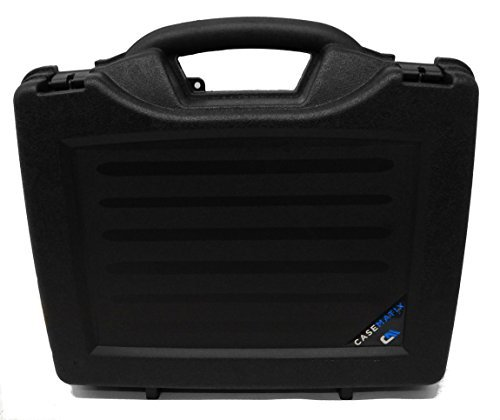 OFFICEFORCE Carrying Printer Labeler Hard Case w/ Dense Foam for Brother P-Touch PTD PT D600 , P700 , P750 , D400 , D450 PC PTouch Label Printers w/ Charger , USB Cable , Tape and Accessories