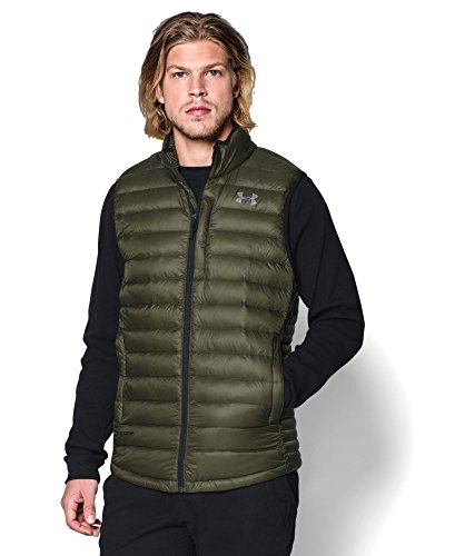 Under Armour Outerwear Men's CGI Turing Vest, Small, Greenhead