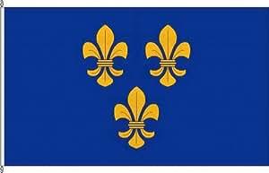 Bandera de la bandera de Wiesbaden–80x 120cm