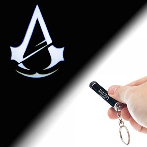 Price comparison product image New Assassins Creed Unity Logo Flashlight Keychain Authentic Product