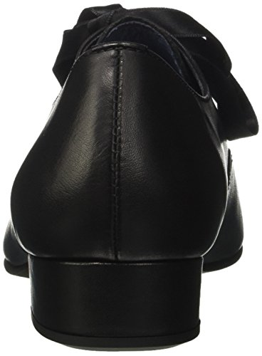 Cordones Pinto Black Di Oxford Julie Mujer Negro 01 para Zapatos BLU de dqSRqvrXW