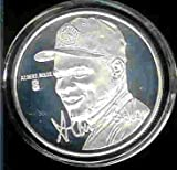 """1994 Highland Mint """"LIMITED EDITION"""" MLB Baseball Collectible Coin Silver: Albert (Joey) Belle - Cleveland Indians - Baltimore Orioles"""