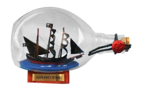 Hampton-Nautical-Blackbeards-Queen-Annes-Revenge-Pirate-Ship-in-a-Bottle-7